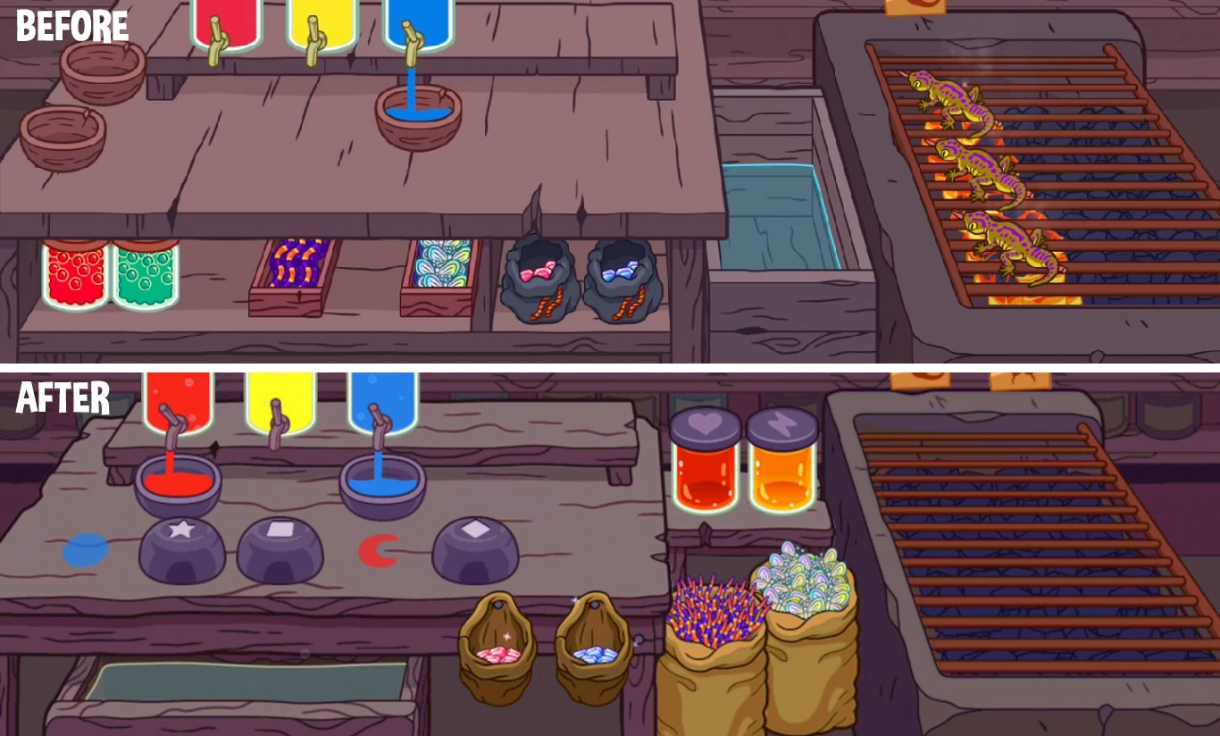 Revamped Potion Shop